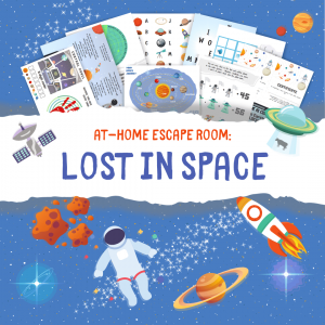 lost in space home escape game for kids